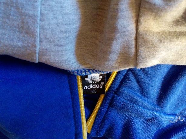 Bluza chłopięca rozpinana z kapturem Adidas (130) Rogoźnik