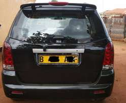 Like new Ssangyong Rexton 3.2 Liter with BOTSWANA REGISTRATION.