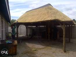 jan mohale thatch roofs and lapas