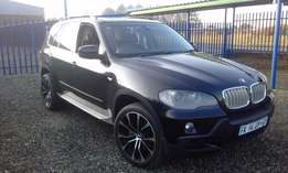 a Bmw X5 3.0d Automatic/Triptronic 2008 FULL HOUSE