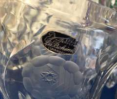French Lead Crystal Vases