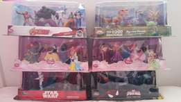 Authentic Disney Store figurine play sets