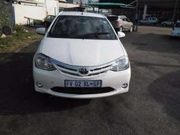 Toyota Etios 1,3 Model 2015,5 Doors factory A/C And C/D Player