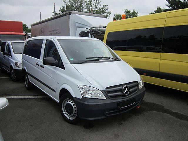 Mercedes-Benz Vito 113 Mixto 5 Sitze Klima Navi AHK LKW - 2013 - image 3