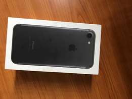 Iphone 7 black 128gig