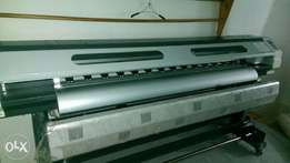 Large format printer 1.8m size with single Xp 600 head