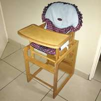 Kids High Chair and Table