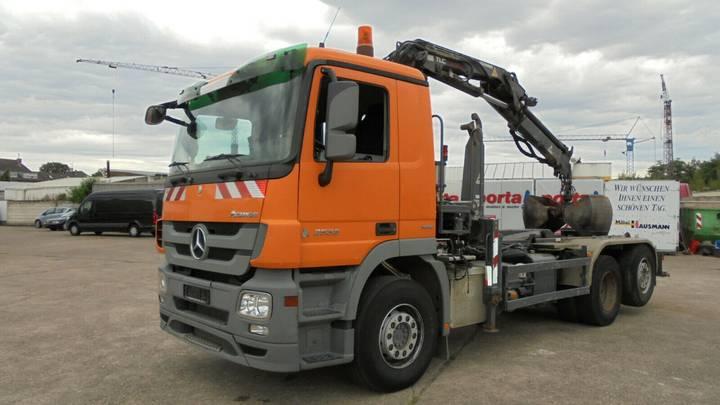 Mercedes-Benz Actros 2532 L nur 155900 km Kran Funk Terex 120. - 2009
