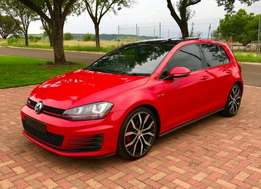 Volkswagen Golf gti speed auto-tiptronic with pedal shift//R32000