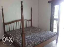 6*6 bed with mattress