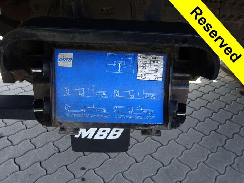 Iveco EuroCargo ML 75E18 Laadklep + Handgeschakeld - 2008 - image 7