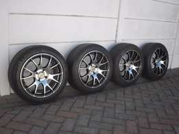 Bargain 15 inch mags with Michelin tyres