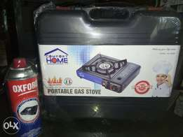Portable Gas Cooker with Extra Gas Canister.