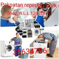All types AC service and repair Washing Machine repair refrigerator re