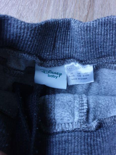 4x spodnie dresowe Adidas i Mickey rozmiar 74, Disney baby