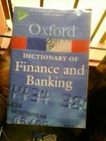 Oxford finance and banking dictionary 4th edition
