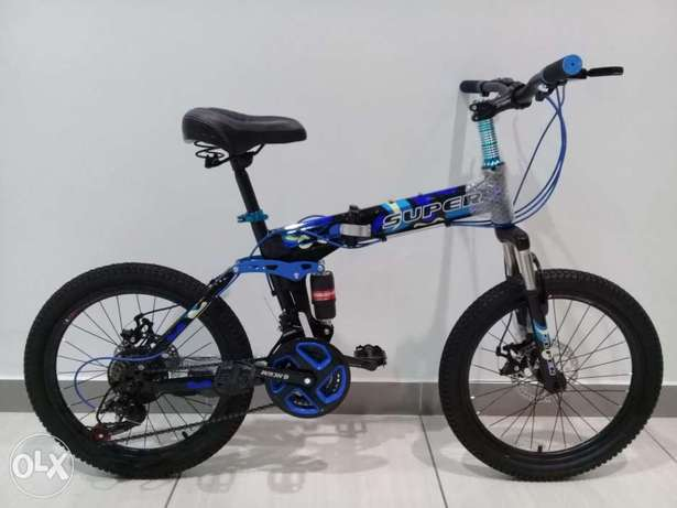 20 inch size foldable bicycle