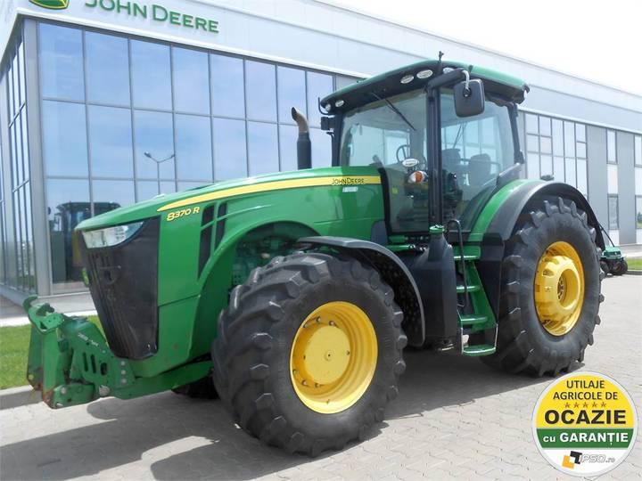 John Deere 8370r - 2014