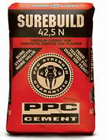 ppc Cement 42.5N-50kgs on special