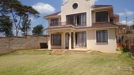 4 bedroomed townhouse to let off kiambu road.