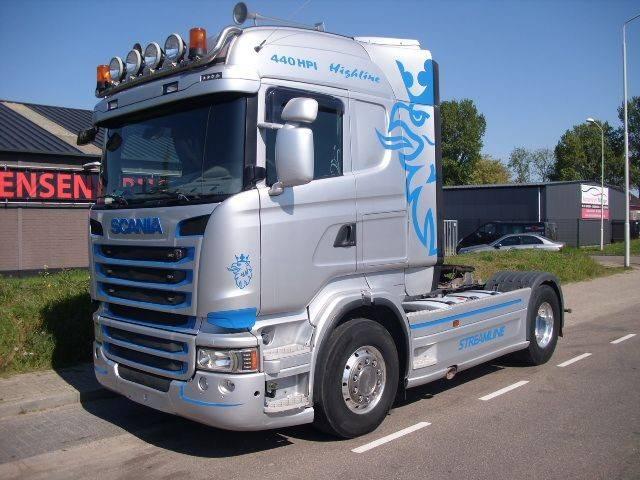 Scania R440 HL 535.000 km+RETARDER+TIPPERUNIT+EURO 5 - 2013