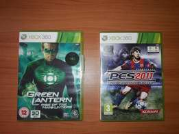 2 Xbox 360 Video Games Bundle - Good and working well (each for 800/-)