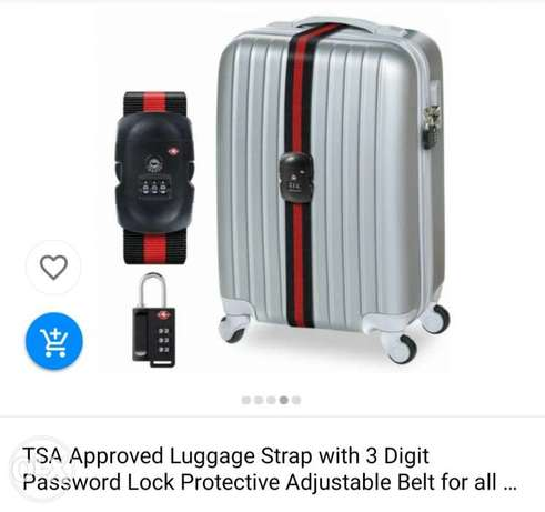 قفل TSA single strap luggage lock