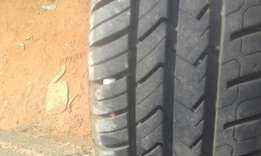 """Set of 13"""" mag with tires"""