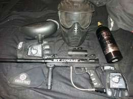 Paintball gun for sale with extras