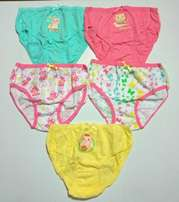 5 Girls Panties pack - Ages 3-12yrs