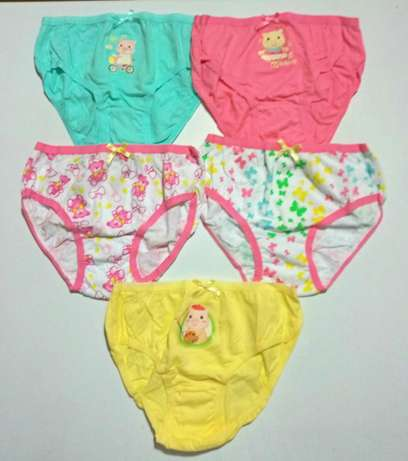 Girls Panties 5 Pack - Ages 3-12yrs South C - image 1
