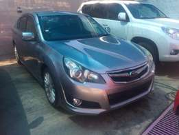 On offer Subaru Legacy saloon new shape fully loaded Un-Used