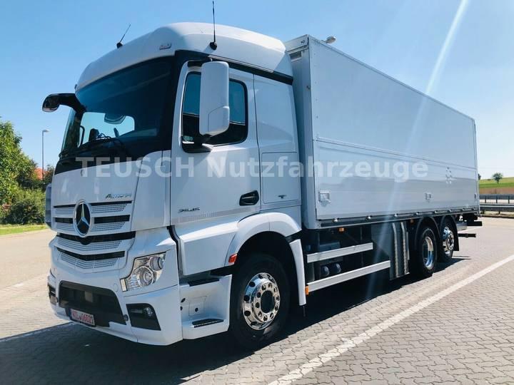 Mercedes-Benz ACTROS 2545 / RETADRER / LENKACHSE / LBW 2,0 T - 2014