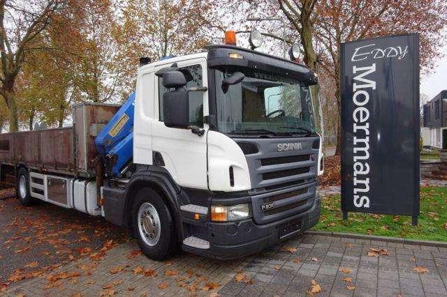 Scania P230 Cp 16 Kran - 2007