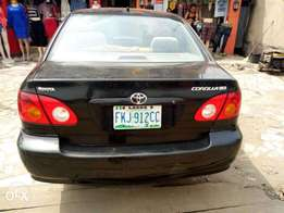 Very clean registered Toyota Corolla