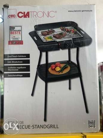 barbecue standgrill clatronic