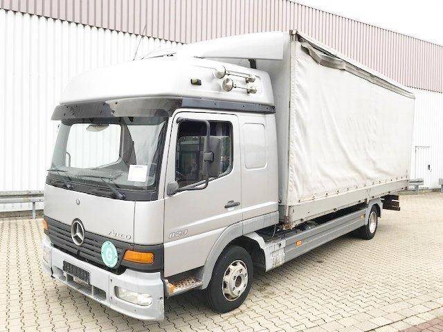 Mercedes-Benz Atego 823 L 4x2 Atego 823 L 4x2 Standheizung/Klima - 2001