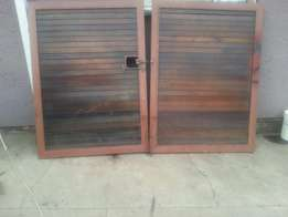 Wooden gate up for grabs