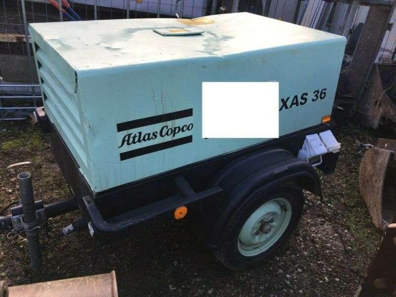Atlas Copco Xas36 Kompressor - 2005