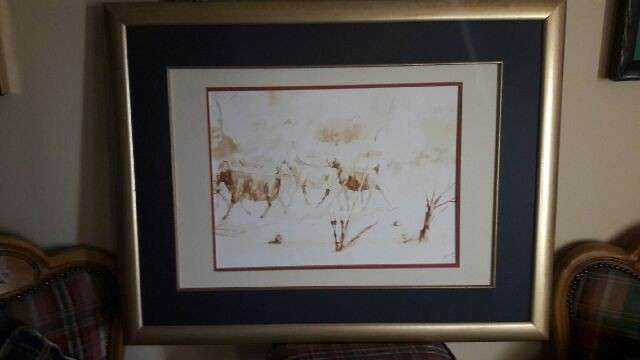 Velias Ndaba Painting - Watercolor - Highly Collectible Moot - image 1