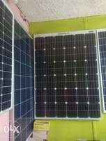 We install &supply solar panel a batteries from50wtts to 400watts.