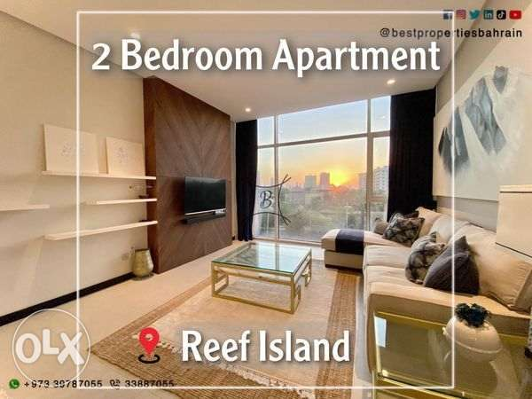 Modern Furnished Apartment Inclusive in Reef Island
