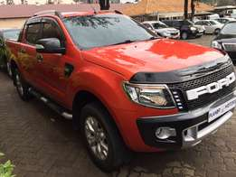 Ford Ranger Wildtrack 2013 (automatic)