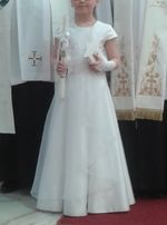 08aeb488e1 Sukienki Komunijne - Ubranka dla dzieci w Opolskie - OLX.pl