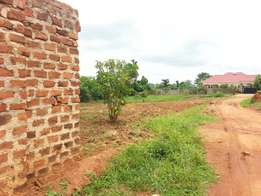 Land in Gayaza at 13m ug shs.