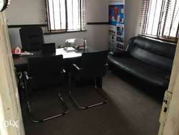 complete set of office furniture for sale