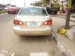 Toyota corolla Nigeria used 2006model for Sale