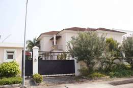 4 bedroom semi detached duplex with pool in Banana island for sale