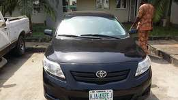 Toyota Corolla 2009 model