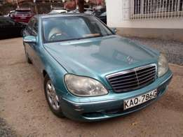 Mercedes Benz S500, For Quick Sale Asking Price 1,400,000/=